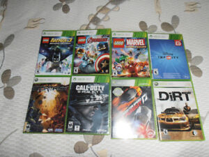 XBOX 360 Video games