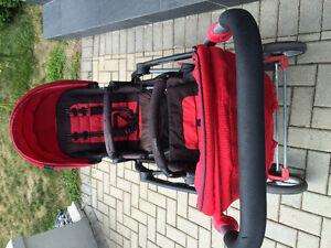 Double baby stroller Windsor Region Ontario image 4
