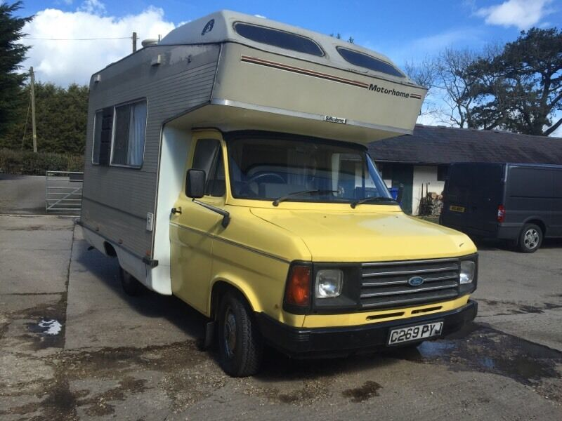 ford transit mk2 motorhome   camer in middleton cheney old diesel pusher motorhomes for sale Class A Motorhomes