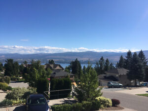 Private room for rent, with views of Kelowna.