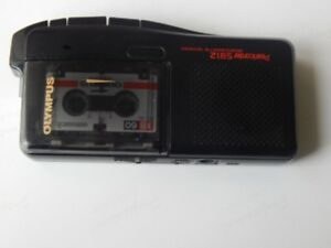 Olympus, Microcassette RECORDER + manual