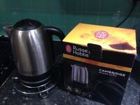 Russell hobbs brushed kettle
