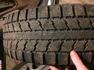 Two 15 in winter tires