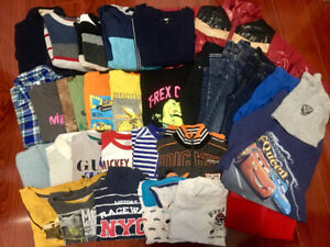 Size 5,6T set, 31 clothes all for $25