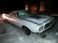 1973 ford ranchero gt running hotrod project