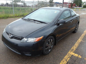 2006 HONDA CIVIC 2DOOR COUPE