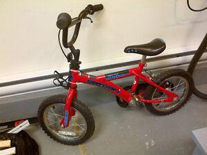 vélo 14 pouces pour enfant