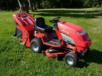 "Countax 38"" Ride on Mower only 202 hours"