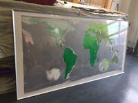 Large world maps