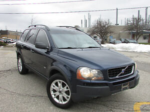 ☆ 2004 VOLVO XC90 T6 ☆ *7 PASS,LEATHER,SUNROOF,ALL WHEEL DRIVE*
