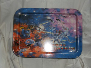 Transformers dinner tray