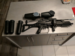 Paintball gun tippman A5