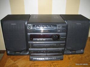 Sony mini stereo system model MHC-C405