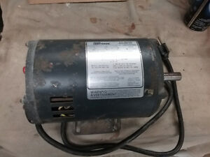 1-1/2 hp electric motor