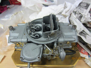Chevy Z28 Holley carb