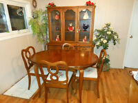 Gibbard French Provincial Dining Set