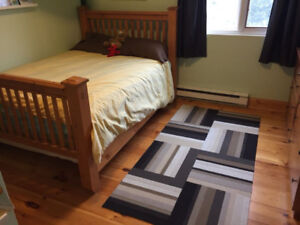 Wood Bed (Double)