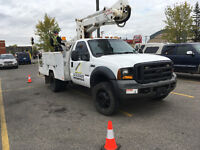 Electrical Services-Boom Truck/Bucket Truck Services--Low Rates