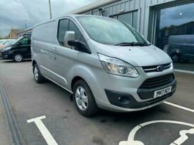 Ford Transit Custom 290 Limited 2.0TDCi 130PS L1 SWB in Silver + Tow Bar