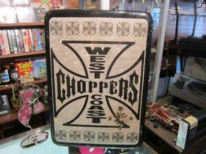 West Coast Choppers Wall Art Piece For Sale