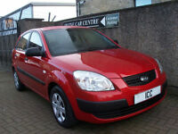 07 07 KIA RIO 1.5 CRDI DIESEL 5DR LOW ROADTAX FULL HISTORY LONG MOT AIRCON