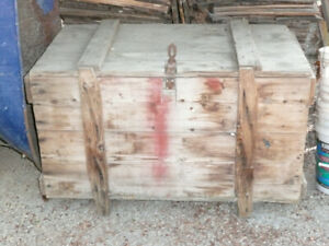 Heavy Duty Wooden Chest
