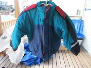 hooded winter jacket  size 12