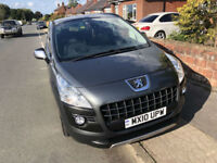 Peugeot 3008 Crossover 1.6HDi ( 110bhp ) FAP Exclusive 10/10