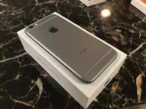 iPhone 6s - 64GB - Space Grey w/ Apple Leather Case Kitchener / Waterloo Kitchener Area image 1