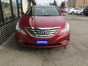 2012 Hyundai Sonata Limited w/Navi, Accident Free,Certified