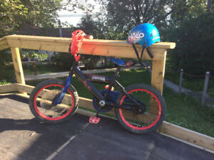 Kids Spiderman Bike