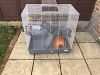 Rat/ferret cage & accessories