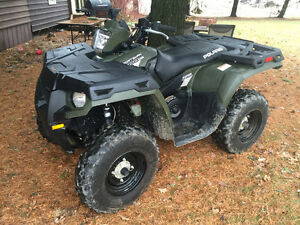 2014 Polaris sportsman with loading ramp