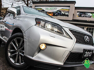 SALE! '13 Lexus RX350 F Sport+NAV+Roof+Leather! Only $228/Pmts!!