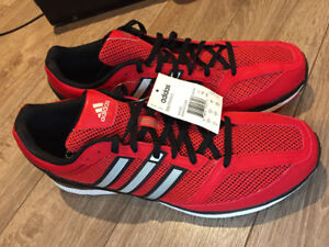 BRAND NEW!! Red Adidas Bounce (size13)