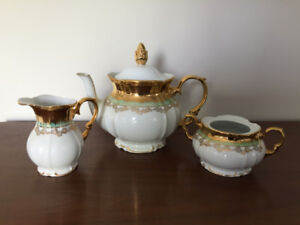 Service a Thé ** East Germany ** Tea Set