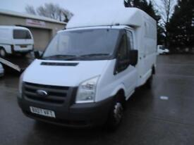 2007 Ford Transit luton 2.4TDCi Duratorq 100PS 350M DRW .75MY 350 MWB 1 owner