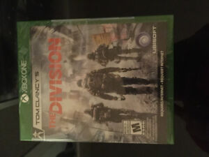 Tom Clancy's The Division Xbox one unopened