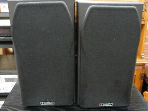 PAIR MISSION BOOK SHELF SPEAKERS