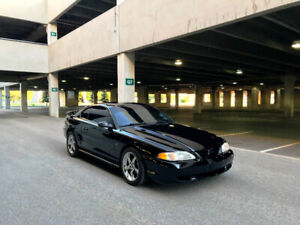 Ford Mustang GT **V8 SUPERCHARGED, beaucoup de modifications!**