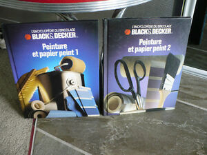 L'ENCYCLOPEDIE DU BRICOLAGE BLACK & DECKER ( VOL.1 et        2 )