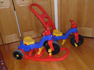 Tricycle bascule little tikes 2 en 1,
