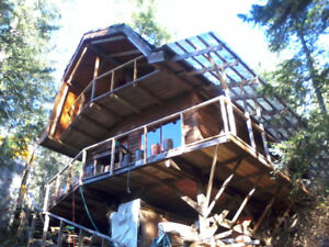 House For Sale, Sonora Island BC