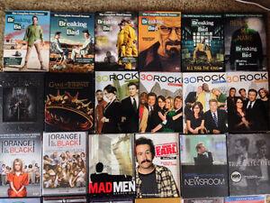 TV Series DVD's! Breaking Bad, 30 Rock, Game of Thrones & More..