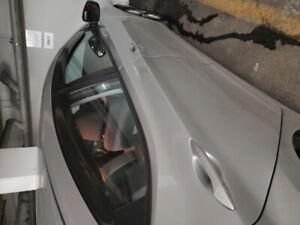 Grey sunshades for all 4 windows of Hyundai Elantra