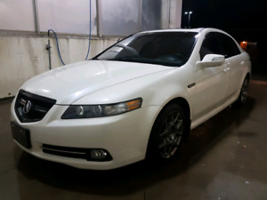 2008 Acura TL type S White Auto Navi 193km NO Accidents/Rust
