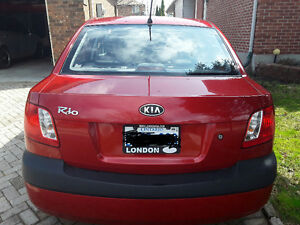 2009 Kia Rio EX Convenience Sedan