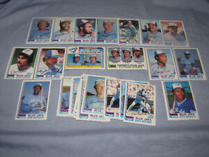 1982 Blue Jays team sets -- Topps and O-Pee-Chee ($12 each)*