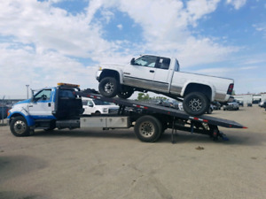 No limites towing and flatdeck services