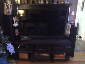 "1.5 year old Hitachi 58"" LED TV and entertainment unit."